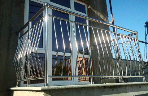 Интересные идеи балконных ограждений в Махачкале