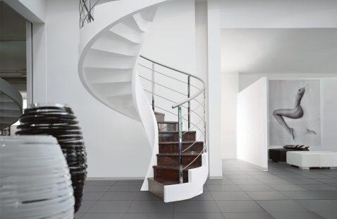 Изготовление винтовых лестниц в компании «М-Никель» в Махачкале