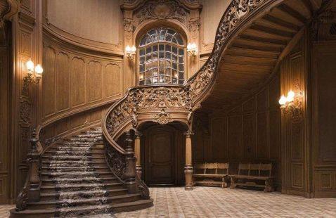 Лестницы «Барокко» в компании М-Никель в Махачкале