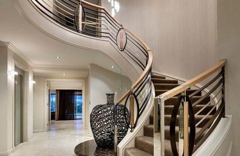 Лестницы в стиле «Арт-деко»