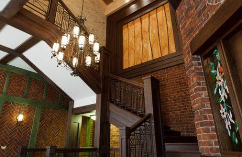 Лестницы в викторианском стиле