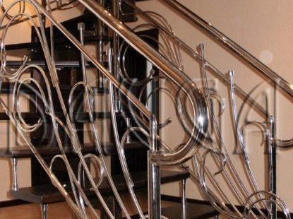 Нержавейка - лучший материал для изготовления лестниц