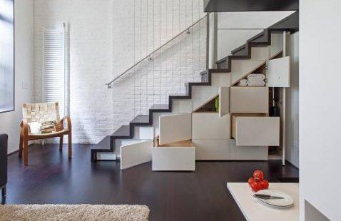 Современный дизайн лестницы Махачкалы.