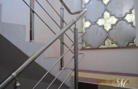 """Качественные лестницы из нержавейки от компании """"М-Никель"""""""