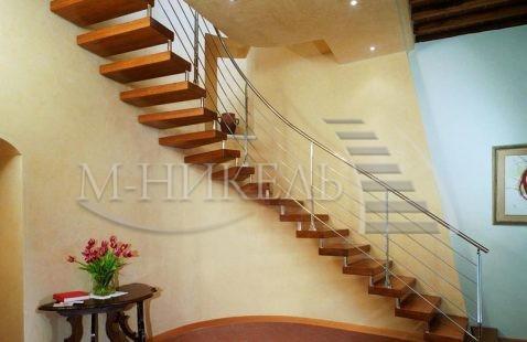Полувинтовые лестницы и их особенности